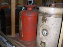 Antique Metal Containers